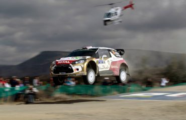 Kris Meeke & Paul Nagle Rally Mexico 2014