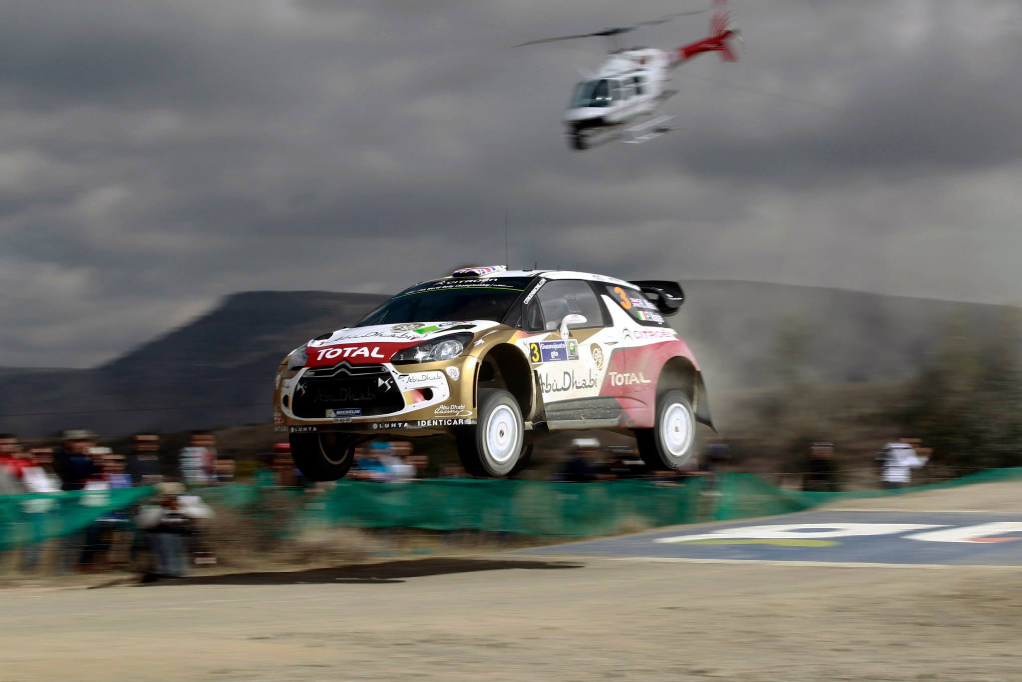 Kris Meeke & Paul Nagle Rally Mexico 2014